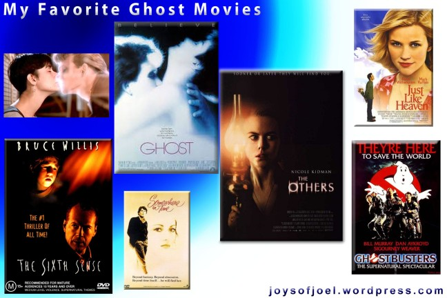 my favorite ghost movies, halloween, scary movies, joys of joel writings, halloween, trick or treat